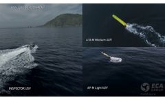 ECA Group - UMIS- Unmanned Mcm Integrated System Video