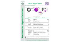 Safety Line - Model NT-O2-A2 - Electrochemical Cells Sensors Brochure