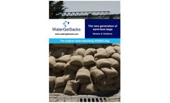 WaterGelSacks - Defense System for Flooding - Brochure