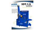 Avani - Model SDT-1.5 - Downdraft Tables Brochure