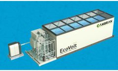 EcoVolt MINI - Containerized Treatment and Water-Reuse System