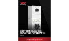 UniMac - Model UDEMNRGS173CW01 - Single Rear Control Electric Dryers Brochure