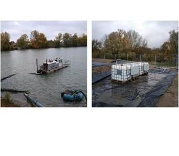 Dewatering sediments from dredging - Case Study