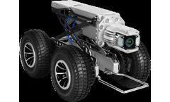 SINGA - Model 300 - Pipe Inspection Robotic Crawler