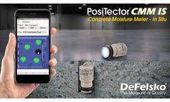 PosiTector CMM IS Concrete Moisture Meter - In Situ Video