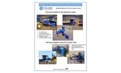 Solaris - Silt Fence Installers Attachments Brochure