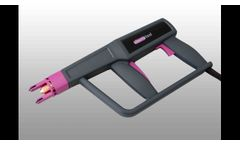 Plasmatool, our handheld device for surface treatment Video