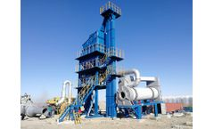 Important Road Construction Machinery - Asphalt Mixing Plant