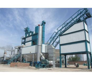 The Working Principle Of An Asphalt Mixing Plant
