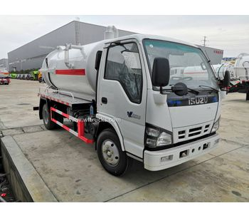 Can the Engine of the sewage Suction Truck be Washed with Water?