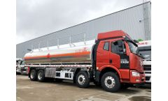 Auman 25m3 milk truck price