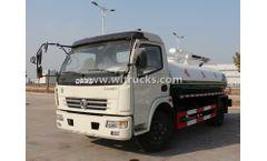 4X2 Dongfeng 5CBM Fecal Suction Trucks
