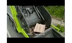 16000liter to 18000liters Garbage compactor truck - Video