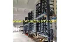 Loren - Model LRO - Hign Concentrated Water or Sea Water Desalination Plant for Drinking and Recycling Use
