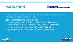 Updated NDF characterization implemented in NDS Professional - Video