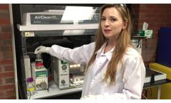 HTX TM Sprayer - Application to Forensics Science - Video