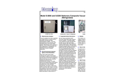 Model S-5200 - Stationary Vacuum Fluid Samplers Brochure