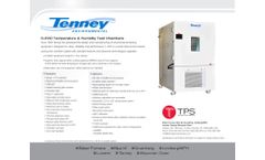 Tenney - Model C-EVO - Temperature Humidity Chamber - Brochure