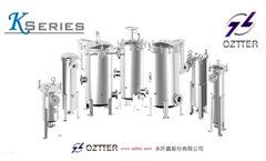 OZTTER K series - Filter Bag Housing