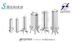 OZTTER S Series - Sanitary Filter Cartridge Housing