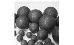 HUAMIN - Model HM4 - SAG MILL Forged Steel Grinding Balls 120mm