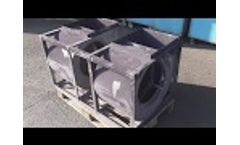 Dry ice cleaning │ Parts of Air System Video