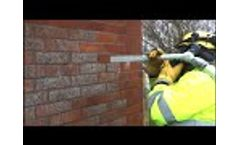 Dry ice cleaning │ Buildings & Walls Video
