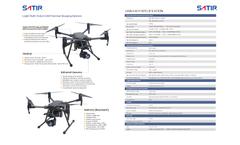 Satir - Thermal Imaging UAV Drone System Brochure