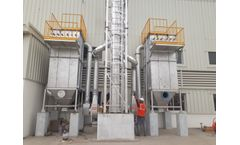 Aarco Dust Collector - Model BF-2.5-36-P - Bag Filter Dust Collector