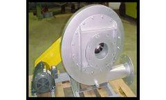 Aarco High Pressure Fan - Model BB600V - High Pressure High Temperature Centrifugal Blower