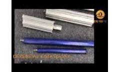 High Pressure blower Air Knife - Video