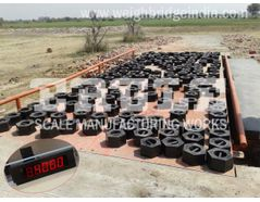 Weighbridges with excellent water proof junction box
