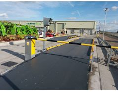 Checkered plate or 10mm plain plate weighbridge supplier in Ug