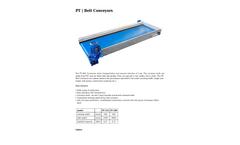 Pro-Vega - Model PT - Belt Conveyors  Brochure