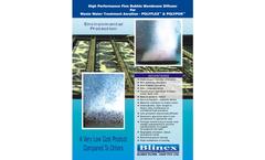 Fine Bubble Membrance Diffusers for Waste Water Treatment Plants & ETP Catalogue