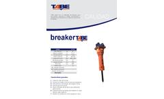 Tabe - Hydraulic Breakers Brochure