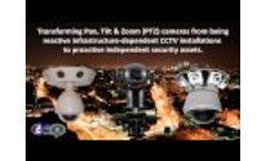 Intelligent CCTV Panoramic Security Camera Video