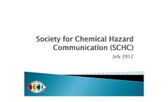 Slide Presentation About the SCHC.- Brochure