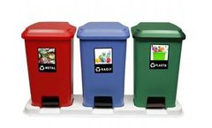 Kayalar - Model 154783920 - 180 Litre Recycle Container