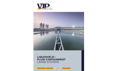 Liquishield Aqua - Potable Water Approved Containment System Brochure
