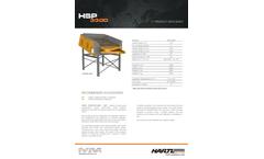 Hartl - Model HSP - Screen Plant Brochure
