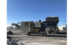 Crushing and Screening Plants for B-scrap upgrading