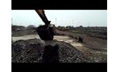 Crushing of Desulf Slag Video