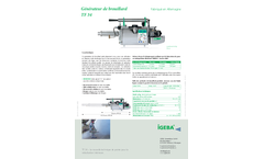 IGEBA - Model TF 34 - Portable Thermal Fog Generators Brochure