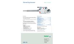 IGEBA - Model EVO 35 - Portable Thermal Fog Generators Brochure