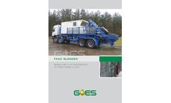 Goes - Frac Blender Brochure