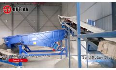 Yueyang Sand Rotary Dryer/Drying Production Line/Drying Machine Video