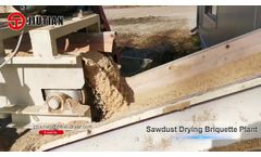 Romania Wood Chip Drying Production Line/Sawdust Dryer/Biomass Drying Machine Video