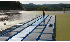 Buoyancy - Stability - Flotabilidad - Estabilidad - @Isigenere @Isifloating Floating Solar - Video