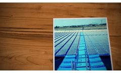 Floating and Electric Conduits Access Pathways@Isigenere @Isifloating Floating Solar - Video